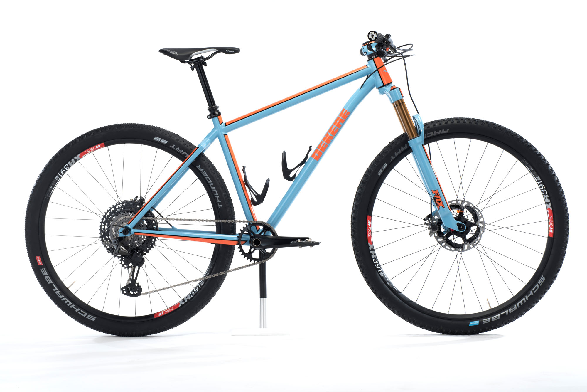 Orange Blue Bike