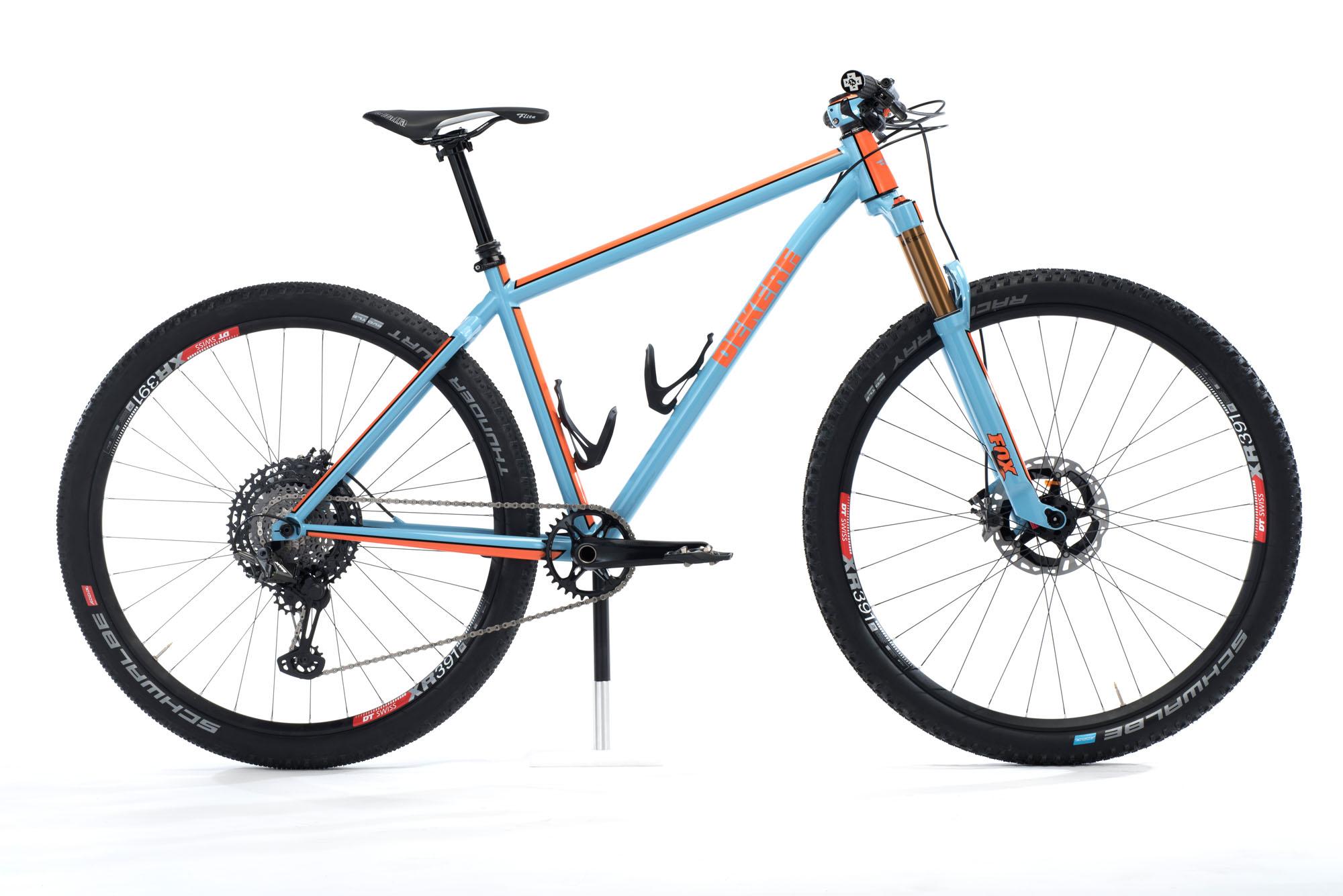 Orange Blue Bike